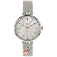 Radley Ry2653 'S St Duncans Leather Strap Watch Ash Pearl