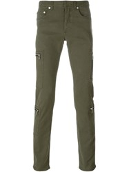 Christian Dior Dior Zip Pocket Trousers Green