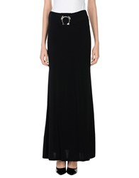 Versace Jeans Long Skirts Black