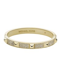 Golden Pave Pyramid Bangle Michael Kors