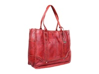 Frye Campus Shopper Burnt Red Tote Handbags