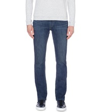 Paige Federal Nappa Slim Fit Straight Jeans