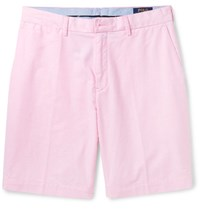 Polo Ralph Lauren Cotton Oxford Shorts Pink