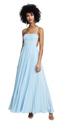 Fame And Partners The Erina Dress Pale Blue