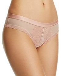 B.Tempt'd By Wacoal B.Cherished Thong 942243 Mahogany Rose