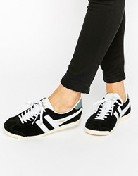 Gola Classic Bullet Trainers In Black And White Black White