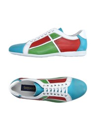 Gianfranco Lattanzi Footwear Low Tops And Trainers Men Turquoise