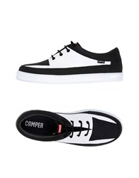 Camper Lace Up Shoes White