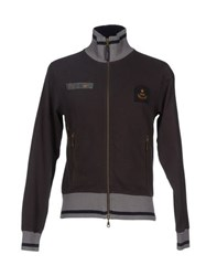 Aeronautica Militare Topwear Sweatshirts Men Dark Brown