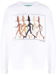 United Colors Of Benetton Pinocchio Print Sweatshirt 60
