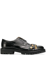 Versace Tribute Brogues Black