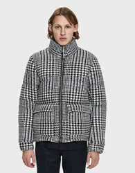 A Kind Of Guise Dunai Wool Puffer Jacket In Check