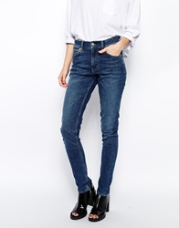 Weekday Tuesday Slim Jeans Blue