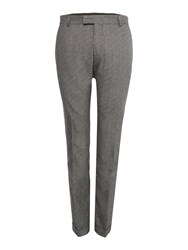 Selected Men's Homme Twist Suit Trousers Grey