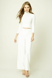 Forever 21 Pleated Wide Leg Pants