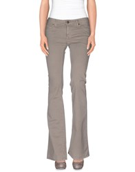 Twenty Easy By Kaos Trousers Casual Trousers Women Grey