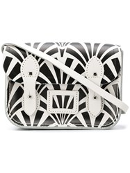 The Cambridge Satchel Company Tiny Deco Print Black