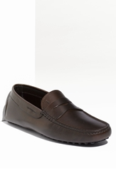Tod's 'Gommini' Driving Moccasin Dark Brown Leather