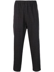Casey Casey Zwag March Check Trousers Grey