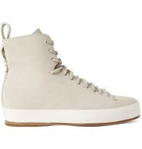 Feit Suede High Top Sneakers Gray