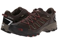The North Face Ultra 109 Gtx Coffee Brown Rosewood Red Men's Shoes