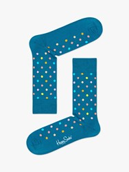 Happy Socks Dot One Size Turquoise