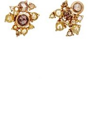 Sharon Khazzam Women's Ernest Stud Earrings Colorless