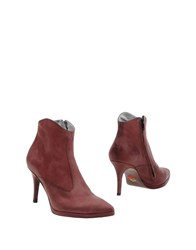 Free Lance Ankle Boots Deep Purple