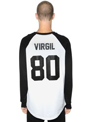Les Artists Virgil Printed Cotton Jersey T Shirt