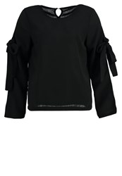 Fashion Union Robbie Blouse Black
