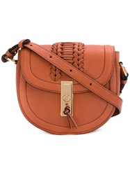 Altuzarra Ghianda Saddle Bag Women Leather One Size Brown