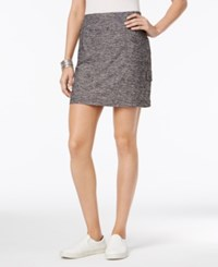 Styleandco. Style Co. Melange Skort Only At Macy's Deep Black