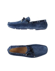 Gold Brothers Moccasins Blue