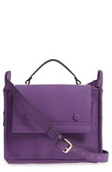 Danielle Nicole Nolan Faux Leather Crossbody Bag Purple Purple Snake