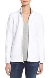 Women's Tommy Bahama 'Aruba' Full Zip Sweatshirt White