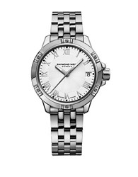 Raymond Weil Tango Mother Of Pearl Analog Watch Silver