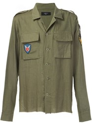 Amiri Military Shirt Green