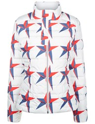 Perfect Moment White Star Mini Duvet Ii Jacket