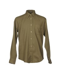 Henry Cotton's Shirts Military Green
