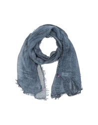 Odi Et Amo Accessories Stoles Women Slate Blue