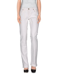 Jeckerson Denim Pants White