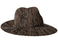 Collection Xiix Pop Slub Packable Panama Hat Black Caps