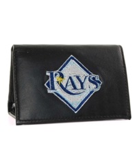 Rico Industries Tampa Bay Rays Trifold Wallet Black