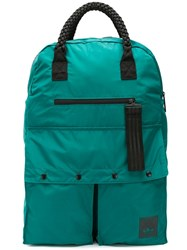 Adidas Braided Handle Backpack Green