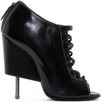 Givenchy Black Cut Out Wedge Nissa Boots