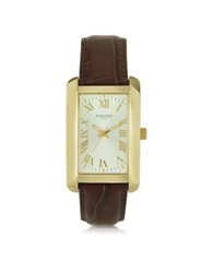 Forzieri Tina Golden Stainless Steel Women's Watch