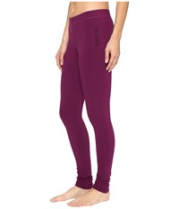 Life Is Good Night Sleep Legging Deep Plum Women's Pajama Purple