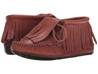 Manitobah Mukluks Paddle Grain Moccasin Vibram Russet Women's Boots Brown