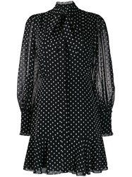 Alexis Tie Neck Polka Dot Print Dress 60