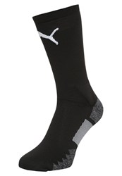 Puma Match Crew Sports Socks Black White